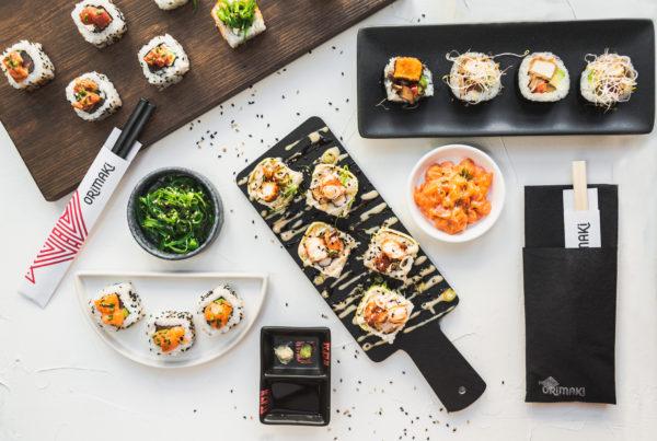 Orimaki sushi premium en barcelona