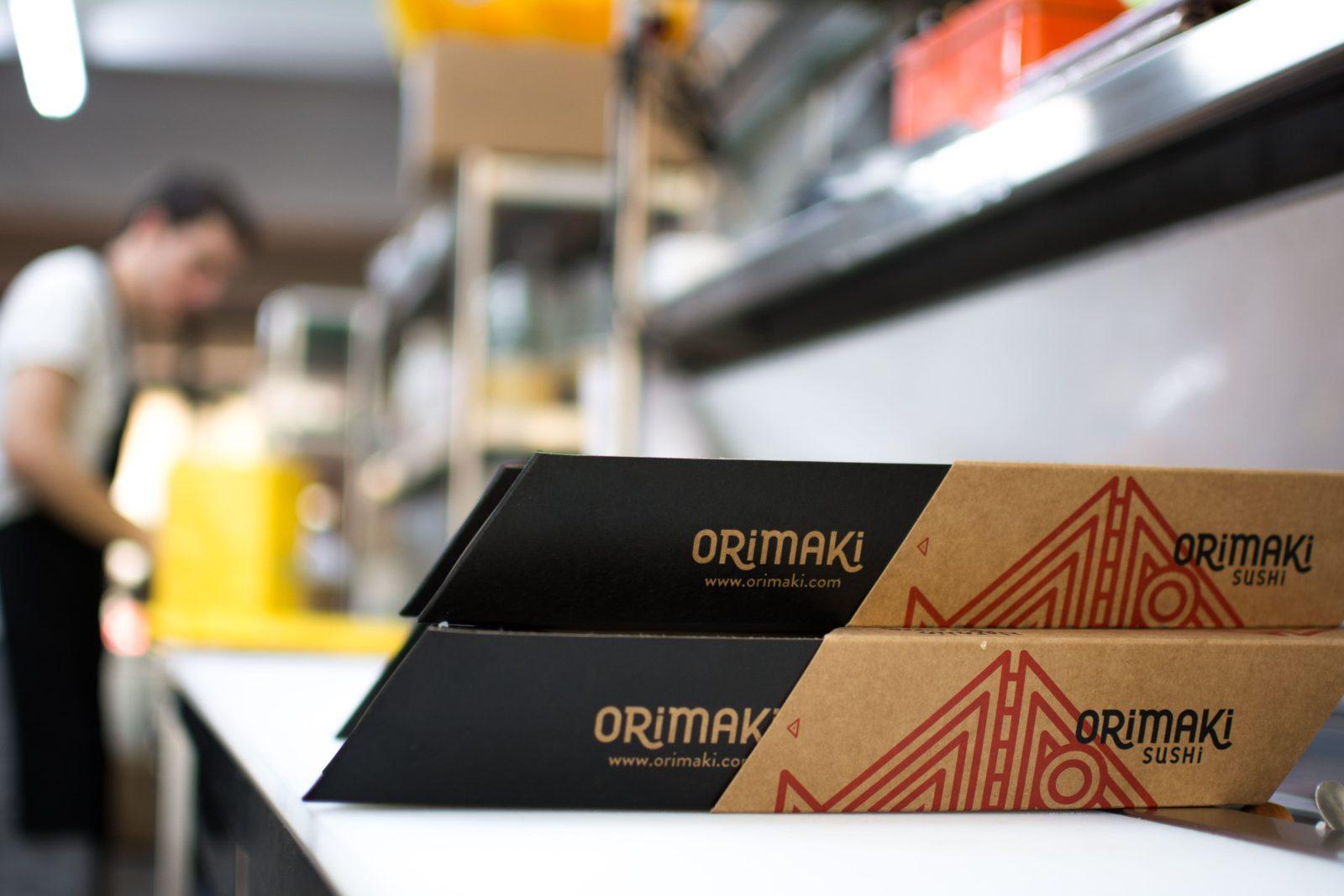 Orimaki sushi delivery barcelona
