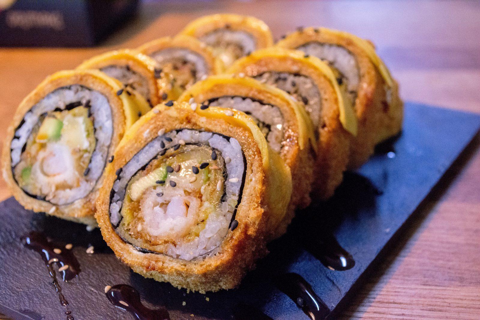 Tentacion roll Orimaki sushi