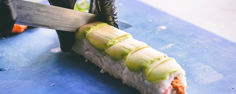 Sin un arroz top no hay sushi rolls top