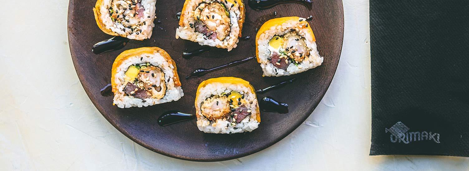 Orimaki, el restaurante sushi fusión de moda en Barcelona