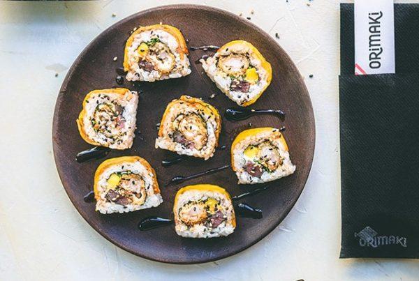 Sushi fusión en Barcelona