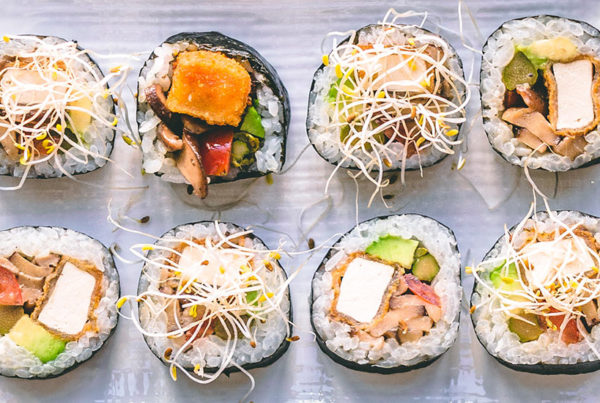 Sushi sabores venezuela