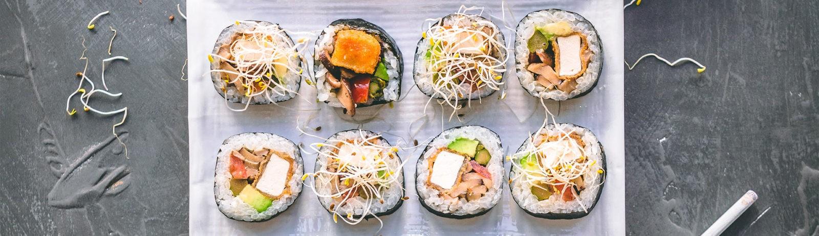 Los sabores que recuerdan al sushi de Venezuela