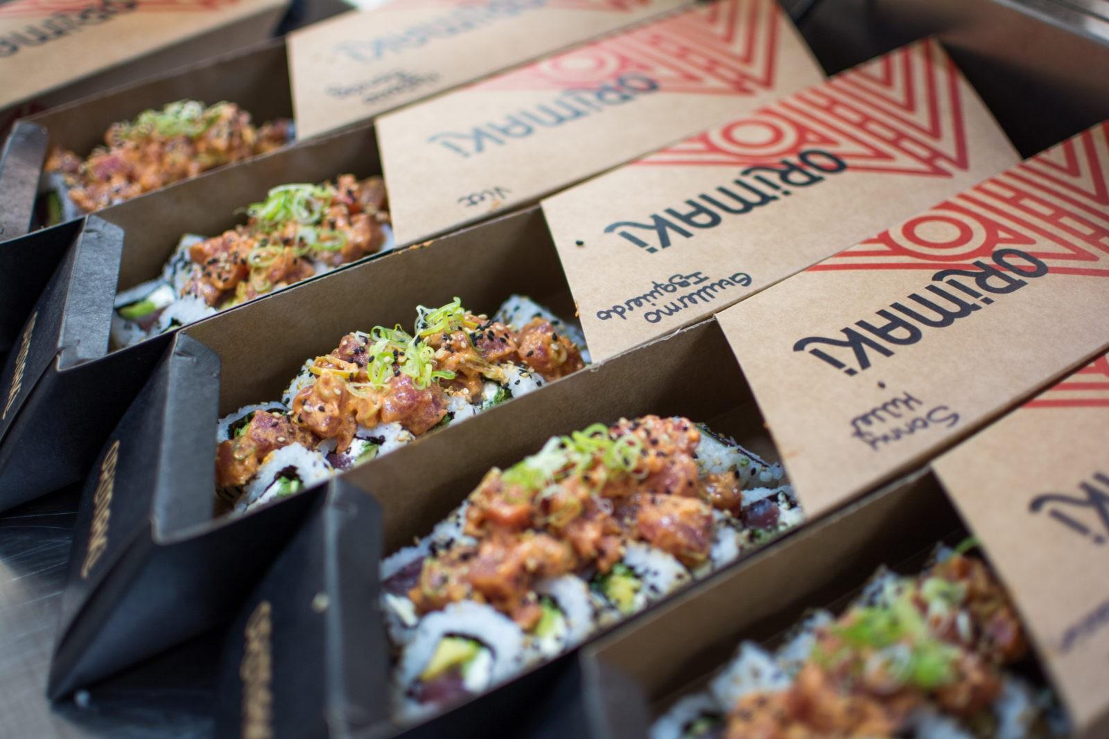 pedir sushi domicilio
