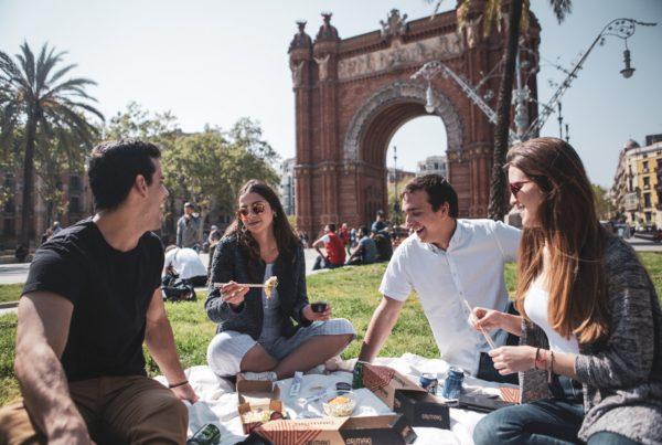 Barcelona verano con amigos