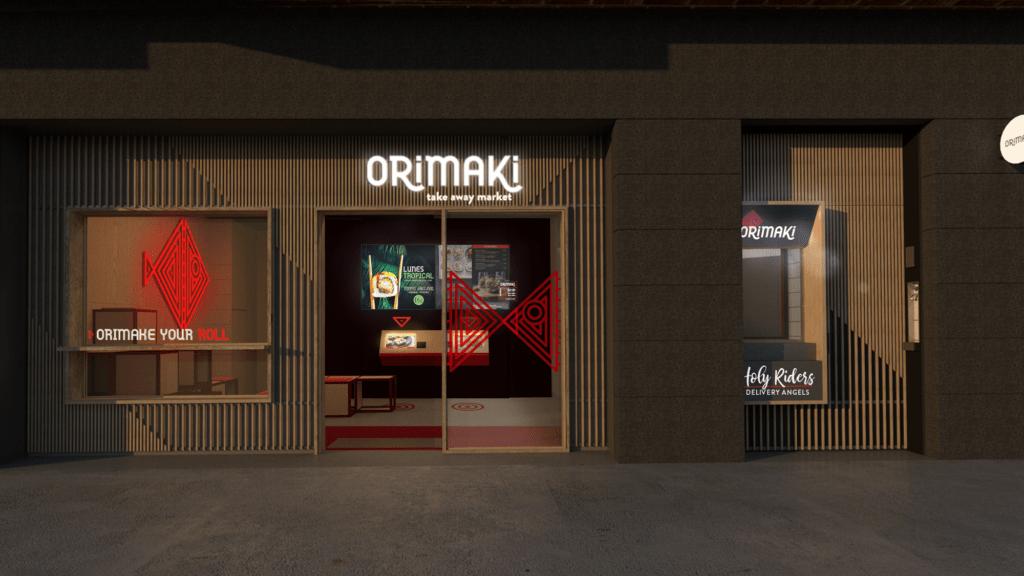 Orimaki, el mejor lugar para pedir sushi en Barcelona