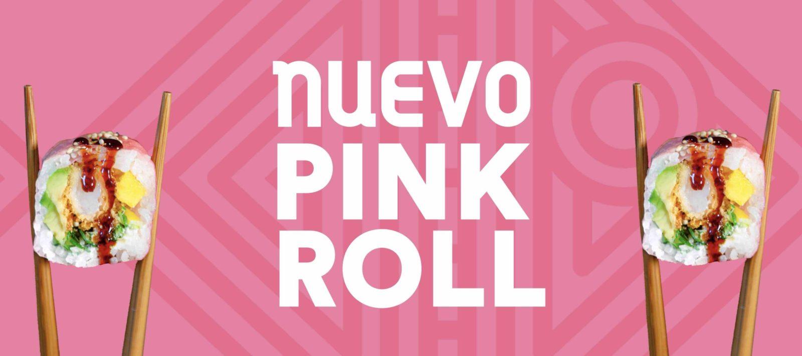 nuevo pink roll