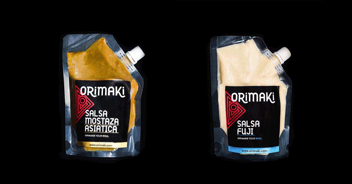 Mostaza asiática y salsa fuji, delicias de venta exclusiva en orimaki.com