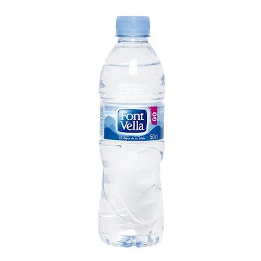 Botellín de agua natural